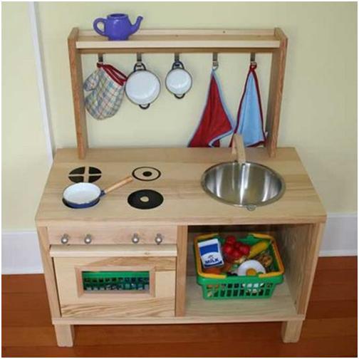 IKEA Hacker sind eben doch die Kreativeren. Miniküchen für Kinder ...