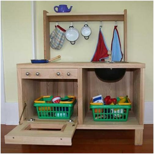 ikea hacker sind eben doch die kreativeren. miniküchen für kinder ... - Kinder Küche Selber Bauen