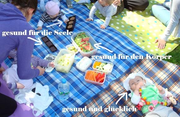 Picknick im Volkspark Friedrichshain