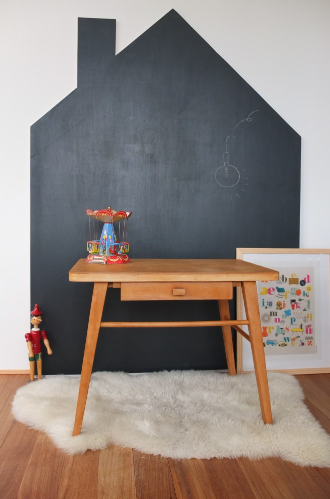 tafelfarbe im kinderzimmer die sch nsten ideen und. Black Bedroom Furniture Sets. Home Design Ideas