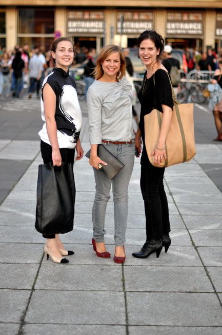 Die Hauptstadtmuttis: Bianca, Isa und Claudia