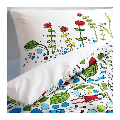 Textilien Aus Der Eivor Kollektion Von Ikea Eivor Leva Bettwäsche