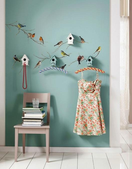 Kinderzimmer wanddekoration  Ganz aus dem Häuschen: Schöne Wanddekorationen fürs Kinderzimmer