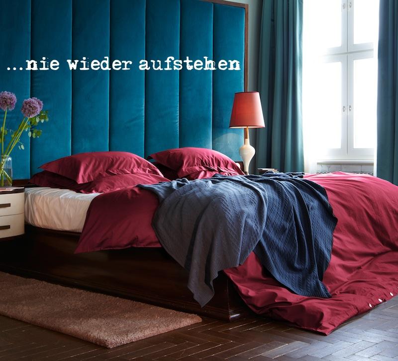 Bettwäsche und Tagesdecke (Foto mit freundlicher Genehmigung von URBANARA)