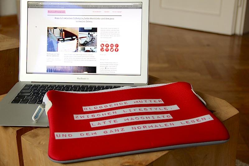 Stoffbeute adé! Endlich eine richtige Hülle für das Notebook.