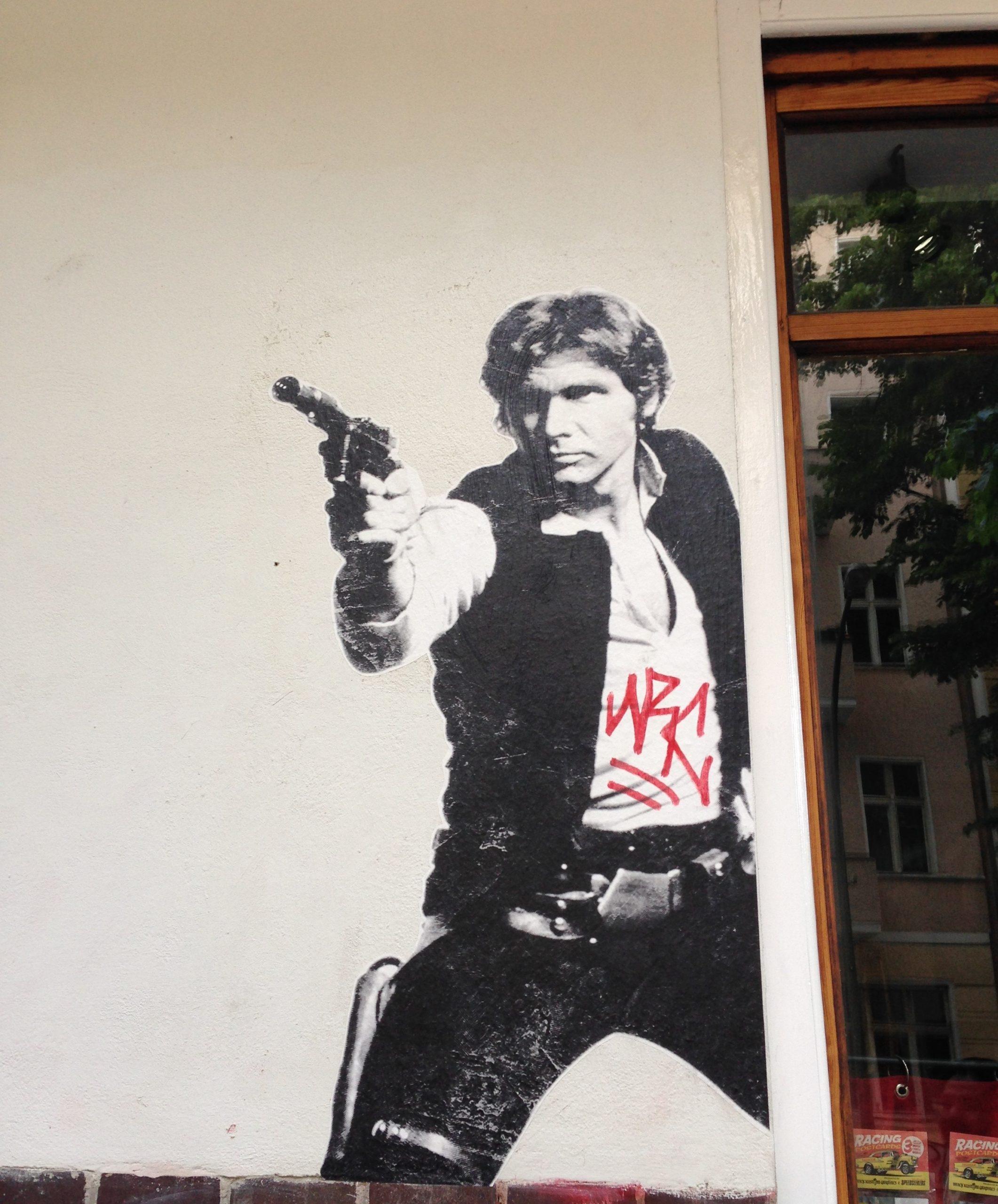 Street Art ganz nach dem Geschmack meiner Kinder...