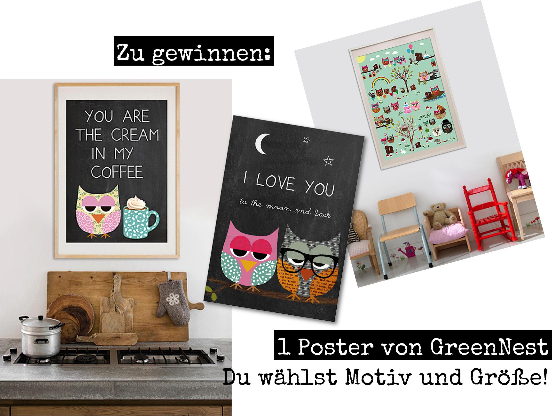 Verlosung: Ein Kunstposter mit Motiv und Größe deiner Wahl von Posterlounge.de