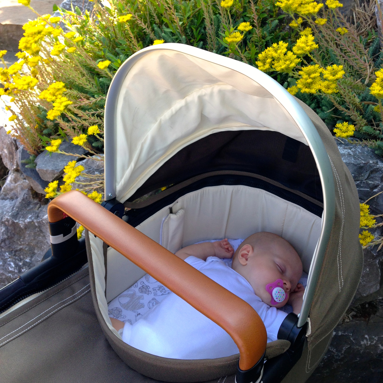 Baby Schläft Nur Im Kinderwagen