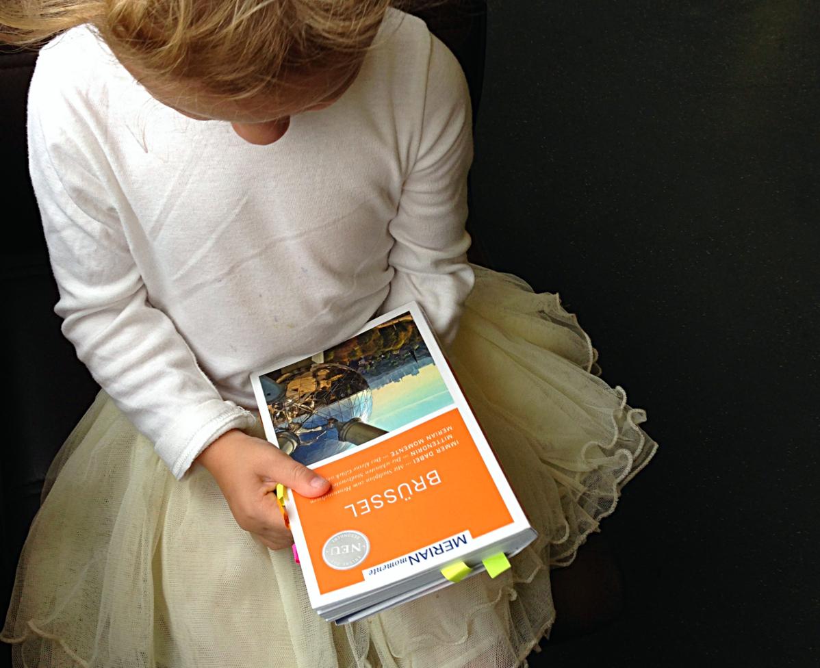 Besondere Momente in Brüssel: Kind 2.0 ist unsere Reiseführerin