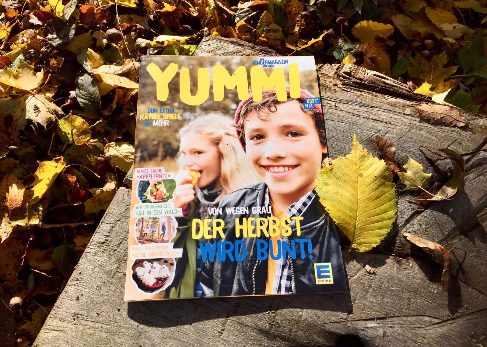 Kindermagazin YUMMI von EDEKA (alle zwei Monate kostenlos)