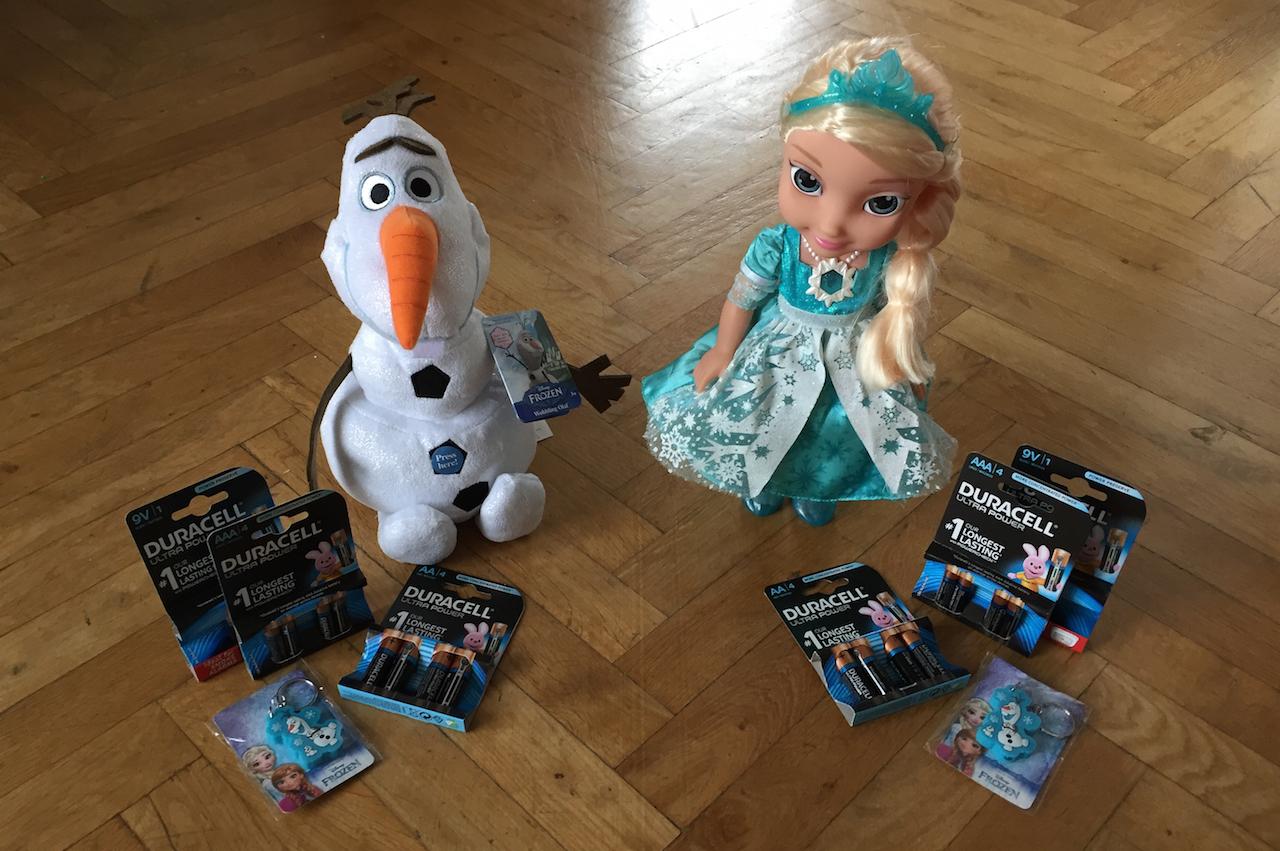 Erweckt euer Disney Spielzeug mit Duracell zum Leben