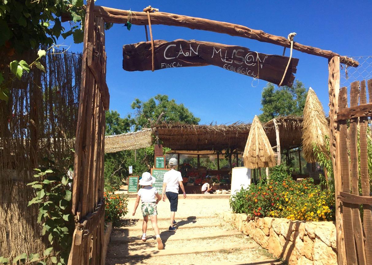 Die Öko Finca Can Muson (Finca Ecologica) auf Ibiza. Ein Bauernhof der anderen Art. Besonders lohnenswert ist ein Besuch mit Kindern.